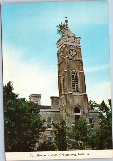 Courthouse Tower, Greensburg Indiana
