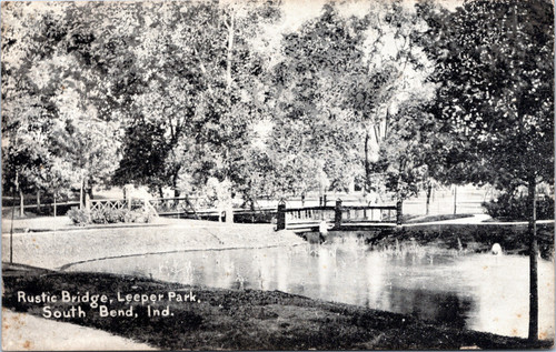 South Bend, Rustic Bridge in Leeper Park
