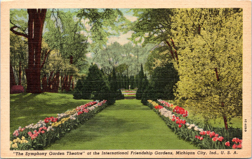 "International Friendship Gardens - ""The Symphony Garden Theater"""