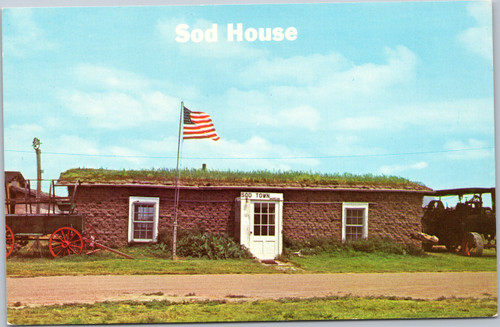 Nebraska Sod House