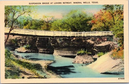 Suspension Bridge at Lovers Retreat,