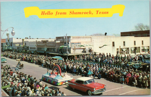 Hello from Shamrock Texas -
