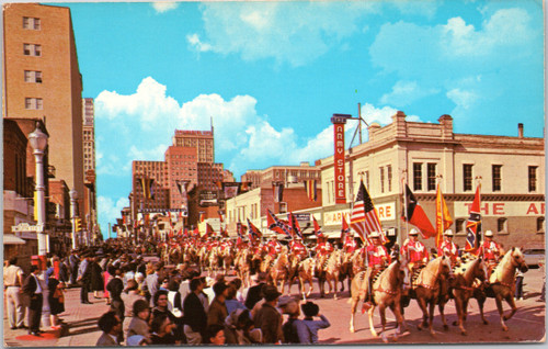 Stock show-Rodeo Parade, Fort Worth
