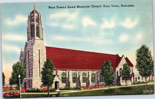 Boys Town's Dowd Memorial Chapel