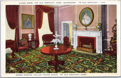 Stephen Colins Foster Living Room