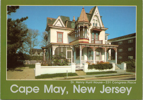 Dr. Henry Hunt House, Victorian house, Cape May