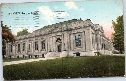 Toledo Ohio Post Office circa 1910
