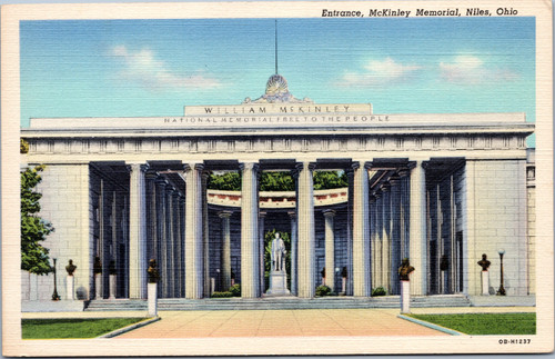 Entrance, McKinley Memorial, Niles, Ohio