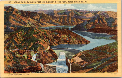 Arrow Rock Dam, Boise River, Idaho
