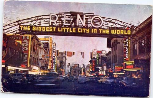Reno night scene