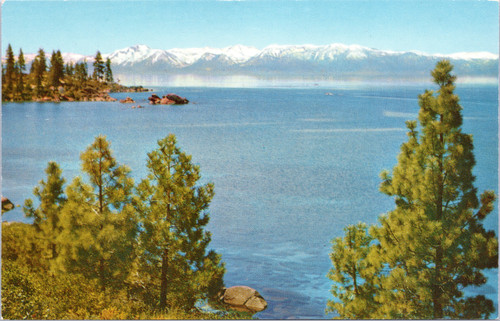 Lake Tahoe view from Nevada shore
