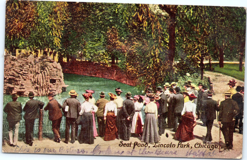 Seal Pond, Lincoln Park, Chicago