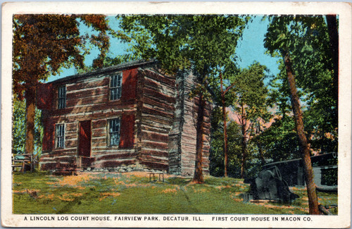 Lincoln Log Court House