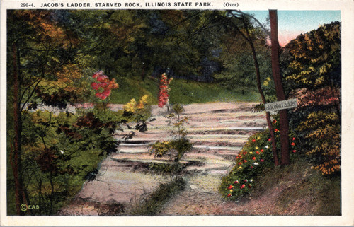 Jacob's Ladder, Starved Rock, Illinois State Park