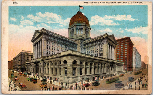 Post Office and Federal Building, Chicago