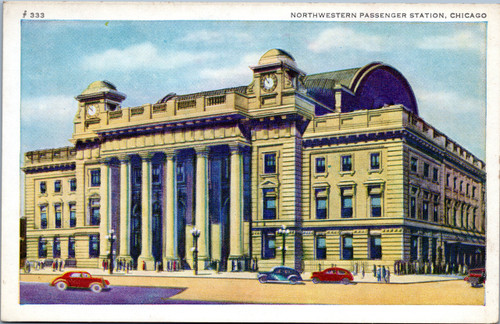 Northwestern Passenger Station, Chicago
