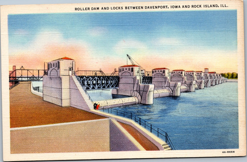 Roller Dam and Locks