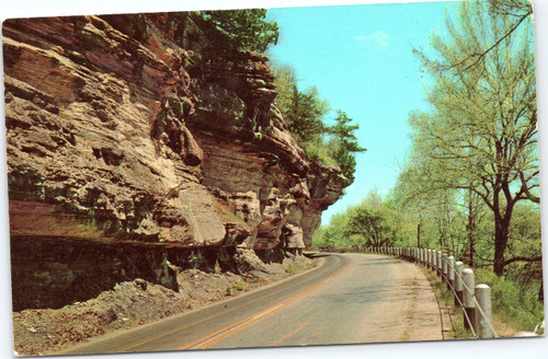 Highway US 71 in the Ozarks, Arkansas