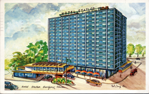 Hotel Statler - Ted Lewy,hartford,connecticut