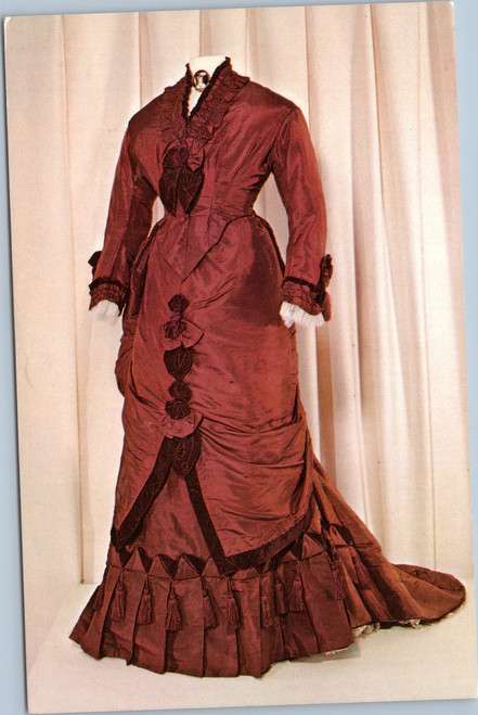 Lucy Webb Rutherford Hayes Reception Dress