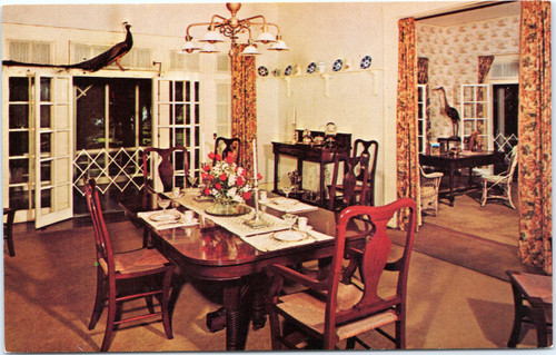Thomas Edison Home - Dining Room