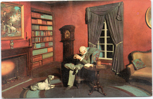 Stephen Foster Museum,Old Dog Tray diorama