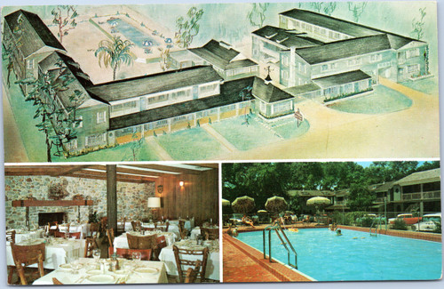 Town House Motor Hotel, HWY 90 and 98,Pensacola