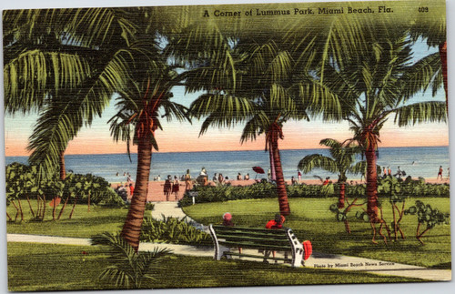 Lummus Park, Miami Beach, Florida