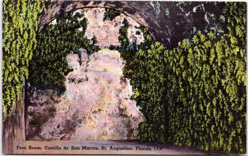 Castillo de San Marcos, Fern Room