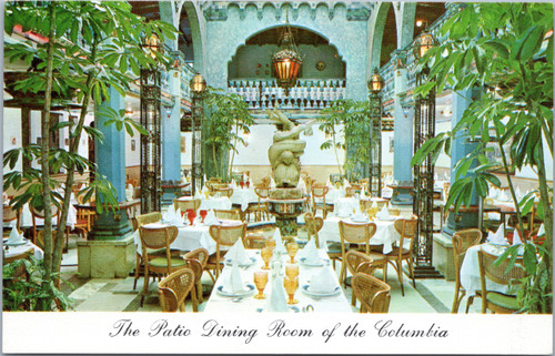 Columbia Restaurant dining room Tampa Florida
