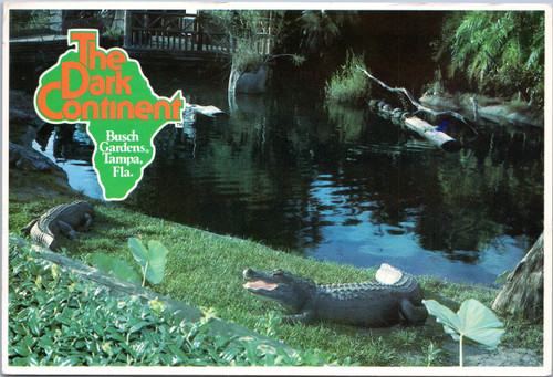 Busch Gardens, The Dark Continent - Alligators