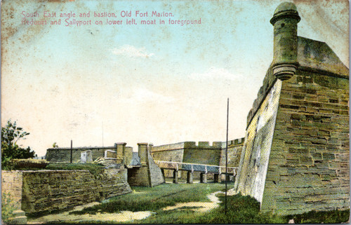 Old Fort Marion, South East angle and bastion