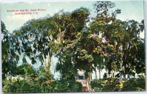 Home on the St. John River, Jacksonville, Florida