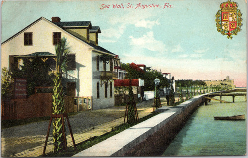 St. Augustine Sea Wall
