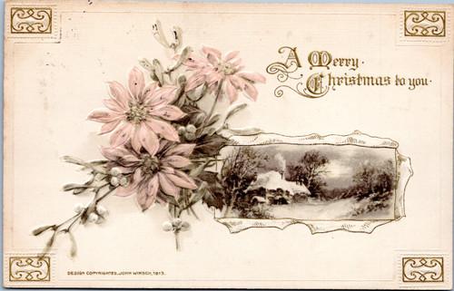 John Winsch 1913 A Merry Christmas to you.