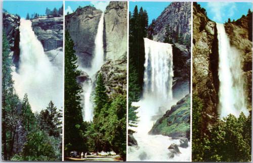Yosemite Falls Nevada, Yosemite, Vernal, Bridal Veil