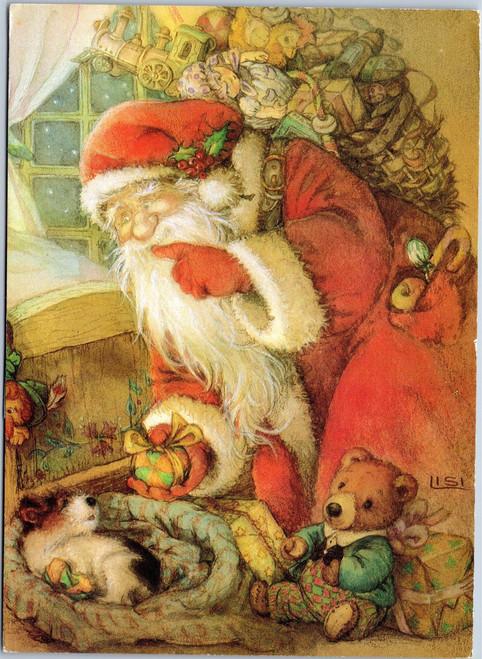 Happy Holidays, mice squirrels rabbit bunny