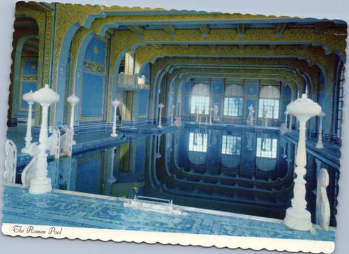 The Roman Pool   San Simeon