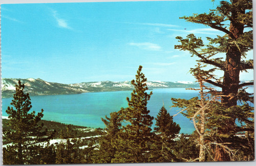 Lake Tahoe as viewed from Heavenly Valley