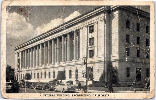 Sacramento Federal Building 1940s