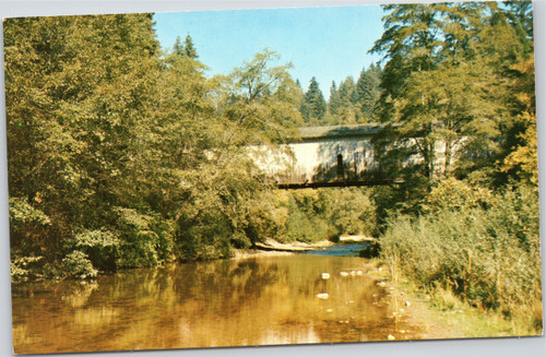 Santa Cruz covered bridge