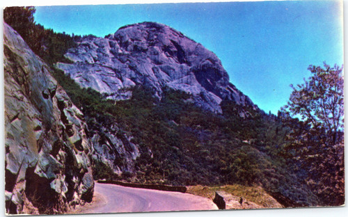 Morro Rock at  Sequoia National Park