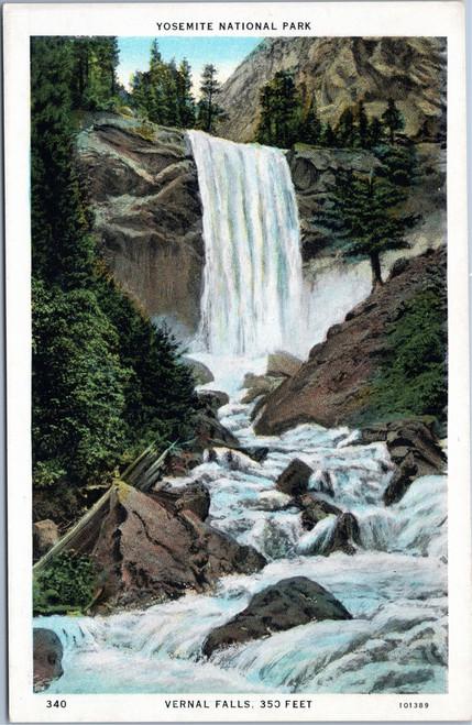 Vernal Falls at Yosemite National Park