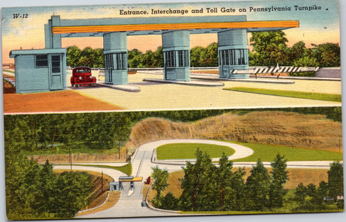 Pennsylvania Turnpike - Entrance, Interchange and Toll Gate