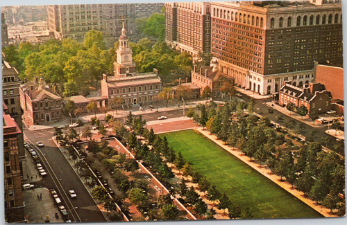 Philadelphia Independence Hall and Mall
