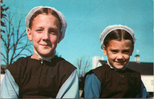 Two Amish Girls