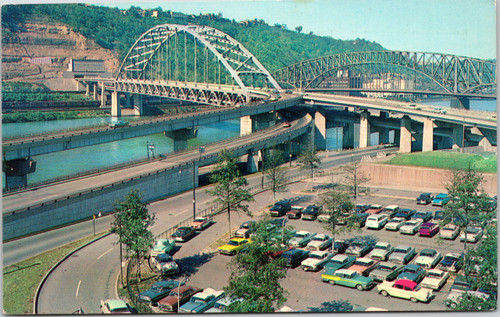 Fort Pitt Tunnel and bridge