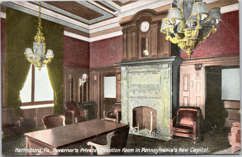 Governor's Private Reception Room in Pennsylvania Capitol