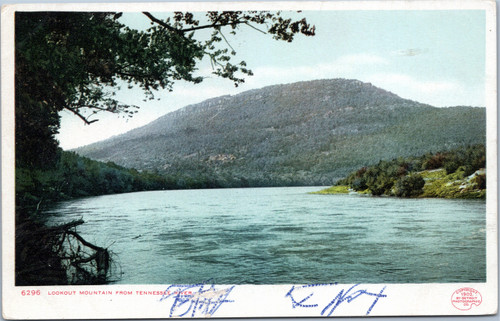 Lookout Mountain from Tennessee River