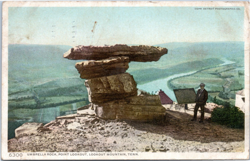 Umbrella Rock, Point Lookout, Lookout Mountain